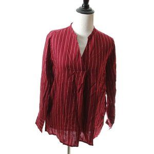 Striped Blouse Shirt NEW WITH TAGS Long Sleeve S